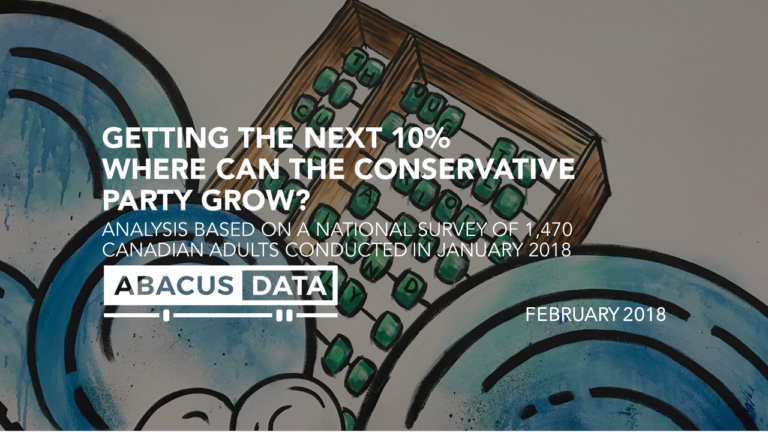 The next 10%: Reflections and data on how the Conservatives can grow.