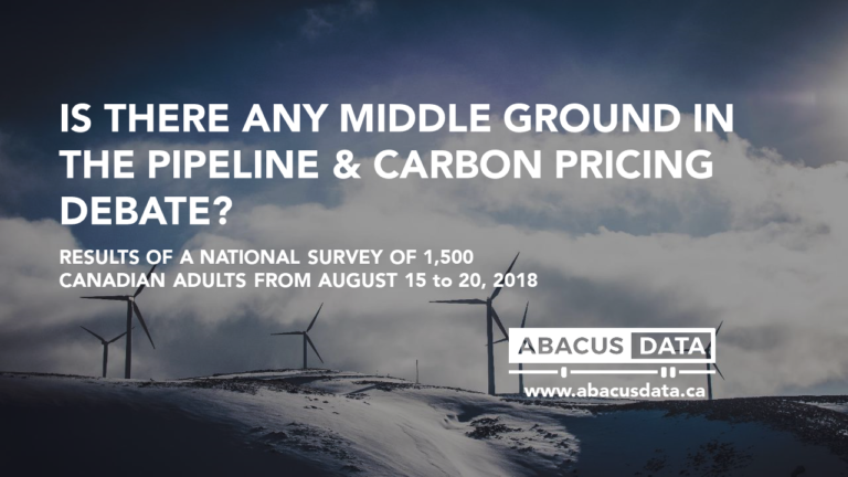 Is there any middle ground in the pipeline and carbon price debate?