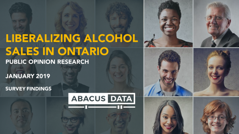 Beyond the LCBO? Broad support for Liberalizing Alcohol Sales in Ontario