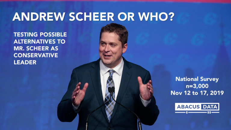 Andrew Scheer or Who?