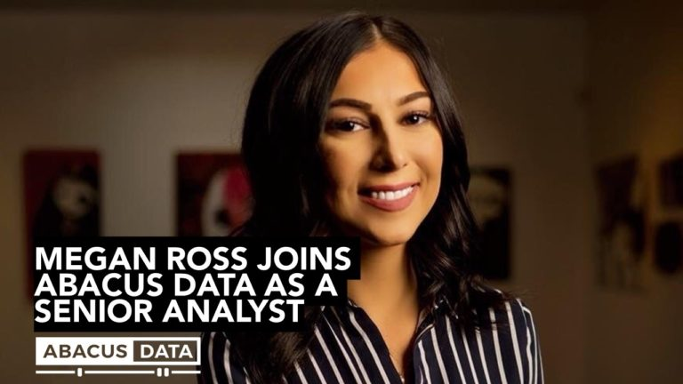 Abacus Data welcomes Megan Ross to the team as a new Senior Analyst