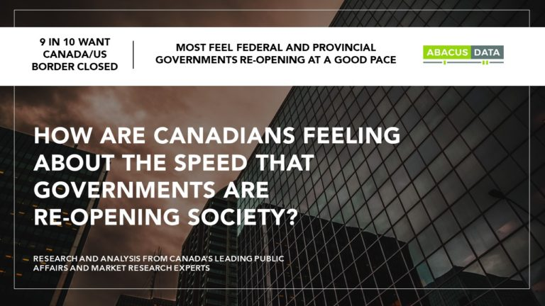 Canadian do not want to speed up return to normal activities – America is a cautionary tale.