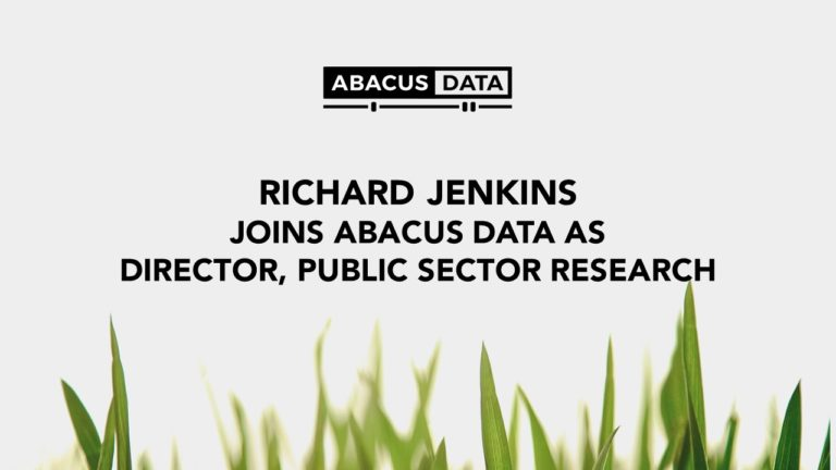 Richard Jenkins joins Abacus Data as Director, Public Sector Research