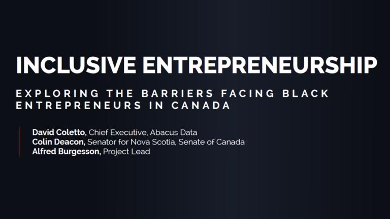Pan-Canadian Survey Finds Black Entrepreneurs Face Significant Barriers to Success